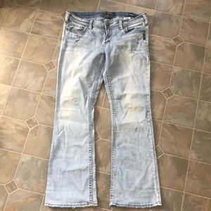 Silver Tuesday Low boot jeans